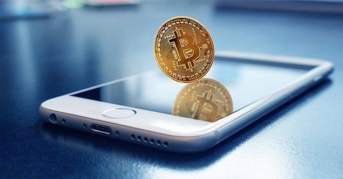Bitcoin smartphone iphone mining crypto