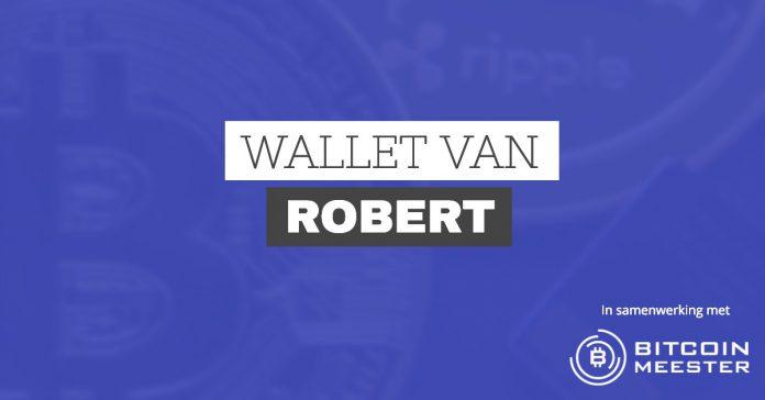Live beleggen in Bitcoin en andere crypto met de wallet van Robert