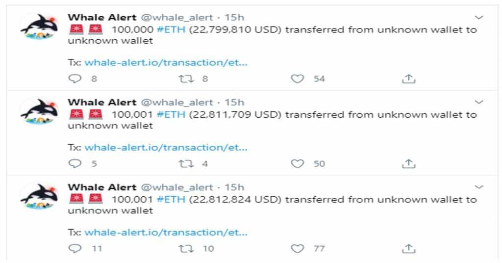Ethereum (ETH): whale transacties verklaren groei