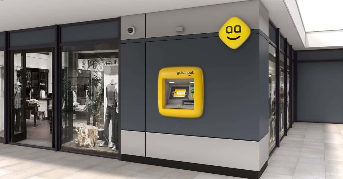 Geen Bitcoinfaciliteit in geldautomaat Geldmaat