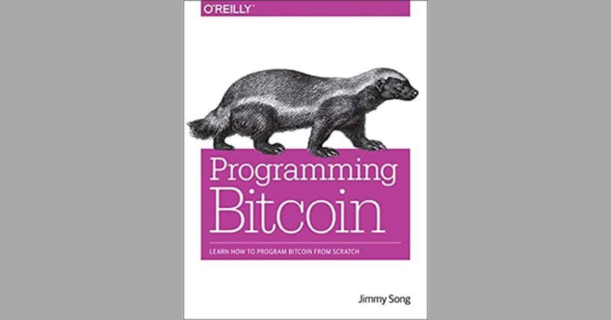 Jimmy Song, programming Bitcoin
