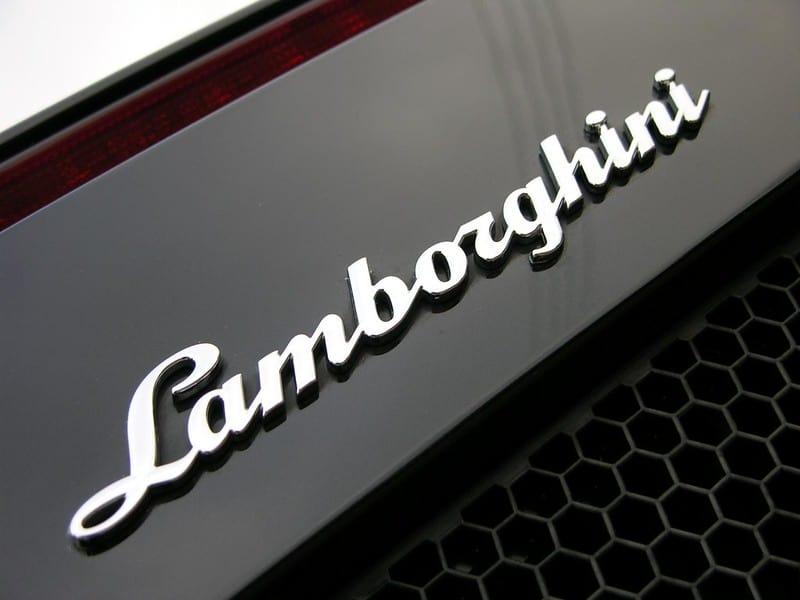 Lamborghini Sian Bitstamps postzegels logo