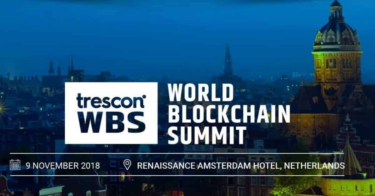 World Blockchain Summit 2018 in Amsterdam